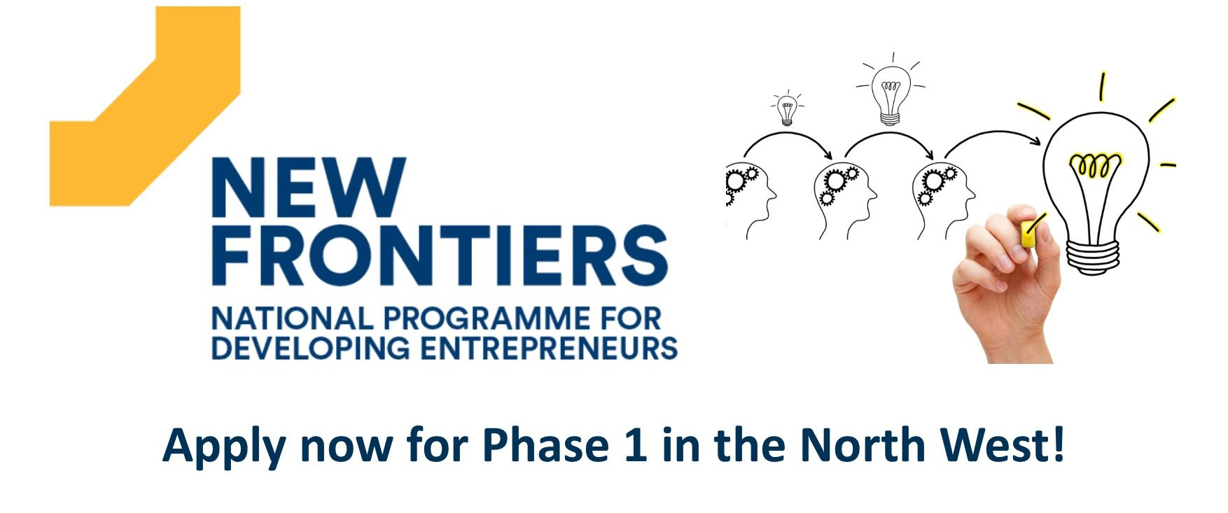 Want a new opportunity? New Frontiers in the North West is Recruiting a Programme Manager